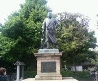 上野公園の西郷像